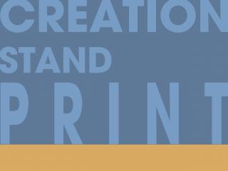Creation Stand Print